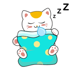 Kawaii Neko The Lucky Cat sticker #12643591