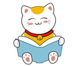 Kawaii Neko The Lucky Cat sticker #12643605