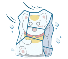 Kawaii Neko The Lucky Cat sticker #12643607
