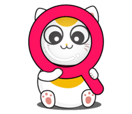 Kawaii Neko The Lucky Cat sticker #12643609