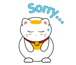 Kawaii Neko The Lucky Cat sticker #12643613