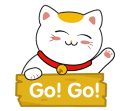 Kawaii Neko The Lucky Cat sticker #12643615