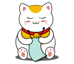 Kawaii Neko The Lucky Cat sticker #12643617