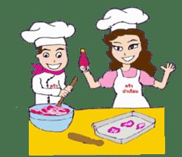 Bloody and crazy Kitchen sticker #12645746
