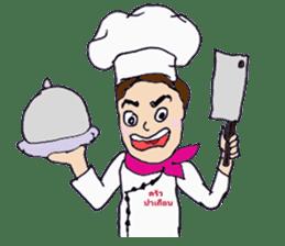 Bloody and crazy Kitchen sticker #12645748