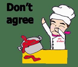 Bloody and crazy Kitchen sticker #12645749