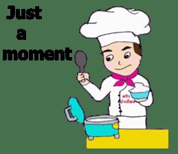 Bloody and crazy Kitchen sticker #12645752