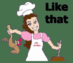 Bloody and crazy Kitchen sticker #12645754