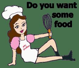 Bloody and crazy Kitchen sticker #12645755