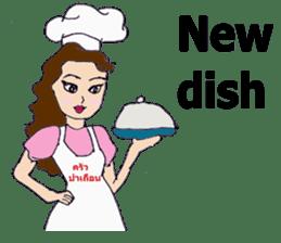 Bloody and crazy Kitchen sticker #12645760