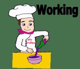 Bloody and crazy Kitchen sticker #12645774
