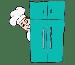 Bloody and crazy Kitchen sticker #12645776