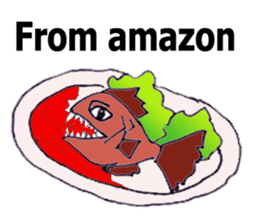 Bloody and crazy Kitchen sticker #12645779