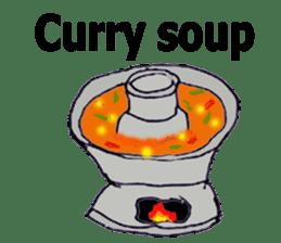 Bloody and crazy Kitchen sticker #12645781