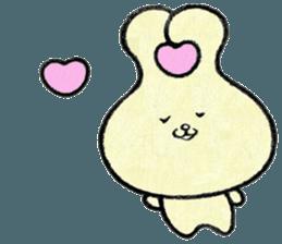 """(w1) Soft rabbit, """"Munyu Usa"""" sticker #12648620"""