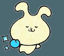 """(w1) Soft rabbit, """"Munyu Usa"""" sticker #12648626"""