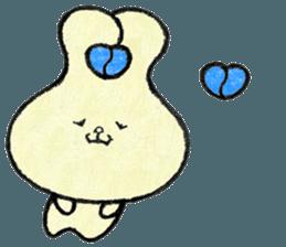 """(w1) Soft rabbit, """"Munyu Usa"""" sticker #12648627"""