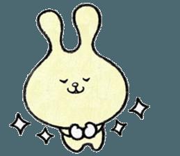 """(w1) Soft rabbit, """"Munyu Usa"""" sticker #12648629"""