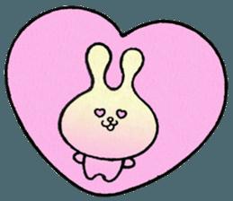 """(w1) Soft rabbit, """"Munyu Usa"""" sticker #12648632"""