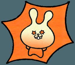 """(w1) Soft rabbit, """"Munyu Usa"""" sticker #12648633"""