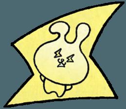 """(w1) Soft rabbit, """"Munyu Usa"""" sticker #12648635"""