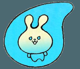 """(w1) Soft rabbit, """"Munyu Usa"""" sticker #12648641"""