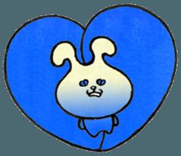 """(w1) Soft rabbit, """"Munyu Usa"""" sticker #12648643"""
