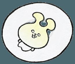 """(w1) Soft rabbit, """"Munyu Usa"""" sticker #12648647"""