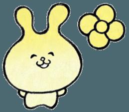 """(w1) Soft rabbit, """"Munyu Usa"""" sticker #12648655"""