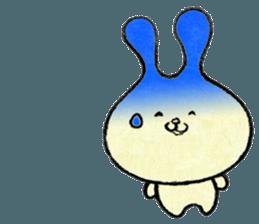 """(w1) Soft rabbit, """"Munyu Usa"""" sticker #12648663"""
