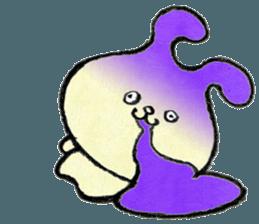 """(w1) Soft rabbit, """"Munyu Usa"""" sticker #12648665"""