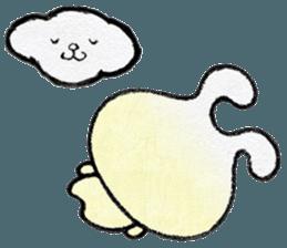"""(w1) Soft rabbit, """"Munyu Usa"""" sticker #12648667"""