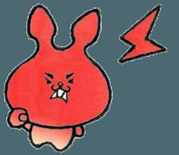 """(w1) Soft rabbit, """"Munyu Usa"""" sticker #12648668"""