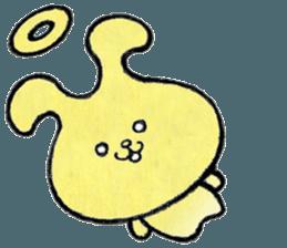"""(w1) Soft rabbit, """"Munyu Usa"""" sticker #12648671"""