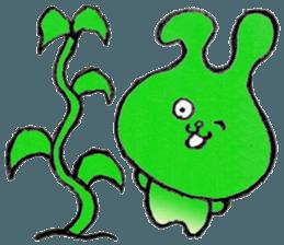 """(w1) Soft rabbit, """"Munyu Usa"""" sticker #12648673"""