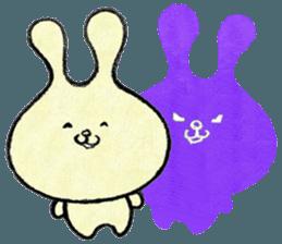 """(w1) Soft rabbit, """"Munyu Usa"""" sticker #12648676"""