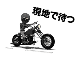 American Motorcycle2 animation sticker #12650992
