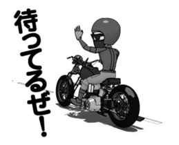 American Motorcycle2 animation sticker #12650993