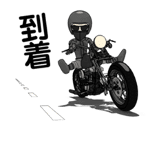 American Motorcycle2 animation sticker #12650995