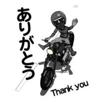 American Motorcycle2 animation sticker #12650996
