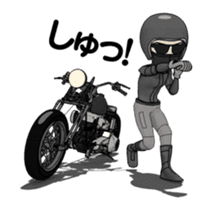 American Motorcycle2 animation sticker #12650999