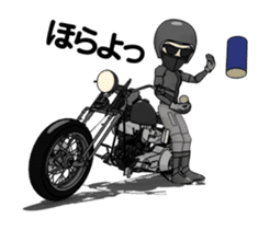 American Motorcycle2 animation sticker #12651000