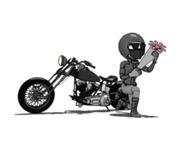 American Motorcycle2 animation sticker #12651001