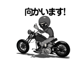 American Motorcycle2 animation sticker #12651006