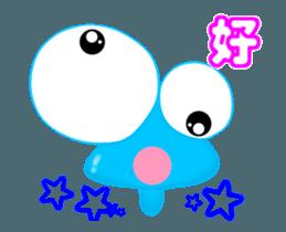 Caterpillar boy -Move Taiwan version sticker #12653141