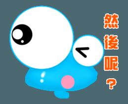 Caterpillar boy -Move Taiwan version sticker #12653152