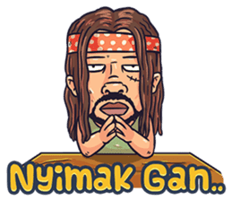 Preman Varokah 2 sticker #12656209