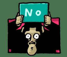the stupid gorilla sticker #12659513