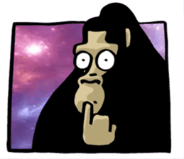 the stupid gorilla sticker #12659517