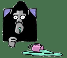 the stupid gorilla sticker #12659527